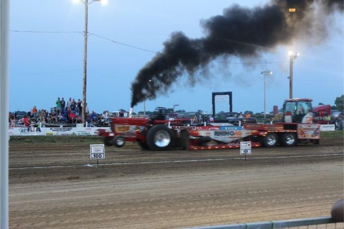 Local UPA Tractor Pull